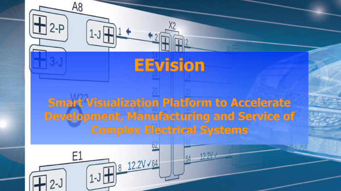 EEvision: Smart Visualization Platform to Accelerate Development, Manufacturing and Service of Complex Electrical Systems (Demo Video)